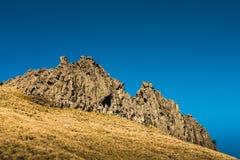 山峰在厄瓜多尔安地斯 图库摄影