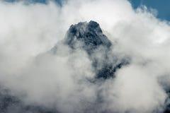 山峰 免版税库存照片