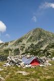 山帐篷 免版税库存图片