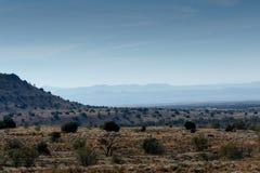 山斑马国家公园的层数 免版税库存照片