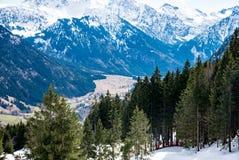 山断层块在德国 免版税库存图片