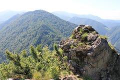 山斯洛伐克 Mala Fatra 一点Fatra Carpathians山 库存照片