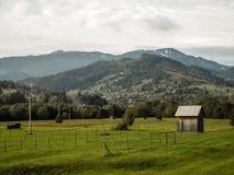 山旅行在Mestecanis 免版税库存图片