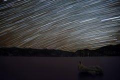 山星跟踪天空海 库存照片