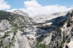 山景在红杉国家公园 免版税图库摄影