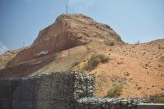 山景在阿拉伯联合酋长国假日阿拉伯国家地方  库存图片