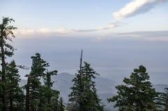 山景城的上面, 免版税库存照片