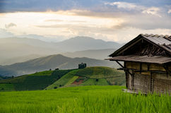 山景,美好的风景 免版税库存图片