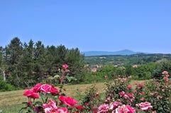 山景-不可思议的山Rtanj,东塞尔维亚,高峰Siljak, 1565 m 免版税库存图片
