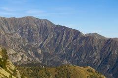 山晴朗的秋天天,意大利 免版税库存照片