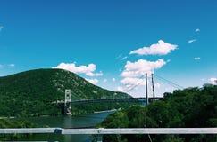 山桥梁 库存图片