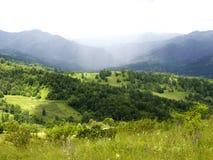 山森林风景 图库摄影