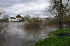 山楂桥梁的河Severn 免版税库存照片