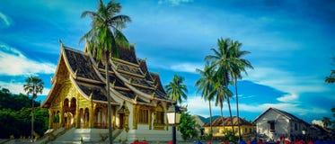 山楂Pha轰隆在琅勃拉邦,老挝 免版税图库摄影