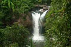 山楂Su大桶瀑布在国家公园,泰国。 库存照片