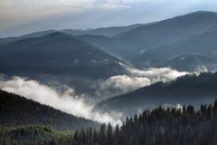 山横向 图库摄影