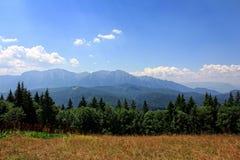 山横向 库存照片