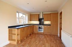 山毛榉厨房豪华样式英国 图库摄影