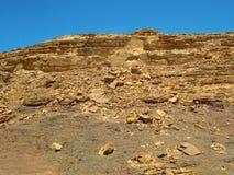 山沙漠。非洲 免版税库存照片
