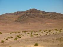 山沙漠。非洲 库存照片