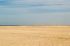 山沙漠 库存图片