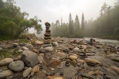 山河。 免版税库存图片