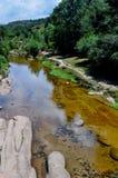 山河在别墅贝尔格拉诺,科尔多瓦省一般晃动 免版税库存照片