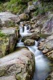 山河流程 图库摄影