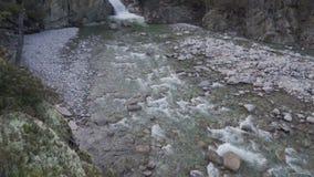 山河的顶视图 股票录像