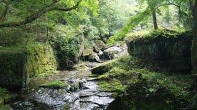 山河,日本 库存照片