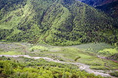 山河 库存照片