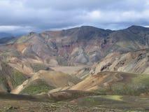 山流纹岩 库存图片