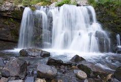 山瀑布在Cololrado 库存照片