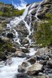 山瀑布 免版税图库摄影