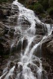 山瀑布 库存照片