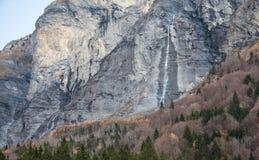 山瀑布II 库存图片