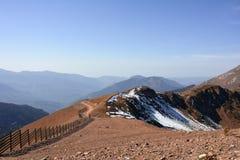 山玫瑰峰顶 图库摄影