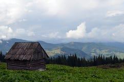 山的之家 免版税库存图片