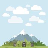 山的之家 免版税图库摄影