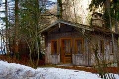 山的之家 库存照片
