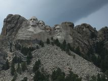 山的人们 库存图片
