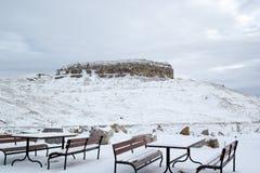 山的休息处 免版税库存图片