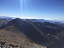 山的呼吸 免版税图库摄影