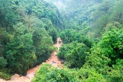 山的大叻,越南镇 免版税库存照片
