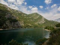 黑山的山 免版税库存照片
