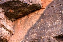 山的岩石 库存照片