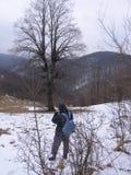 山的摄影师 免版税图库摄影