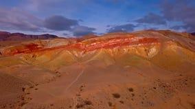 山的沙漠 免版税图库摄影