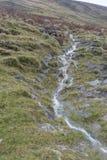 山的看法在湖区,英国 免版税库存图片