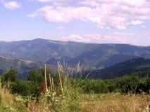 山的秀丽 库存照片